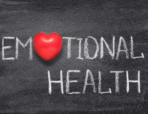 """Emotional Heath - the first """"O"""" is a heart"""